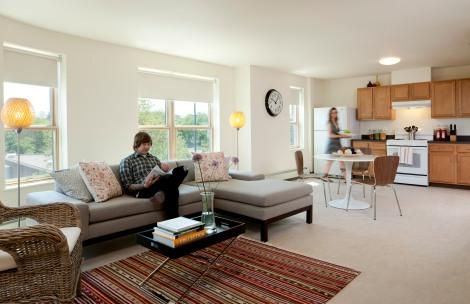 270 Centre housing unit interior