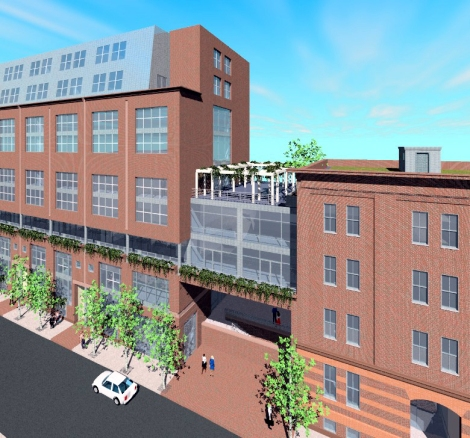 Terrace St. Lofts Rendering