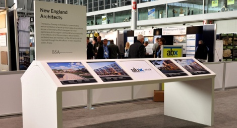 ABX2012 Photo Exhibit (check out Studio G's 270 Centre project in the center display!)