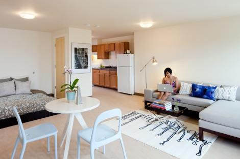 270 Centre housing unit designed by Studio G Architects. Photo: Greg Premru