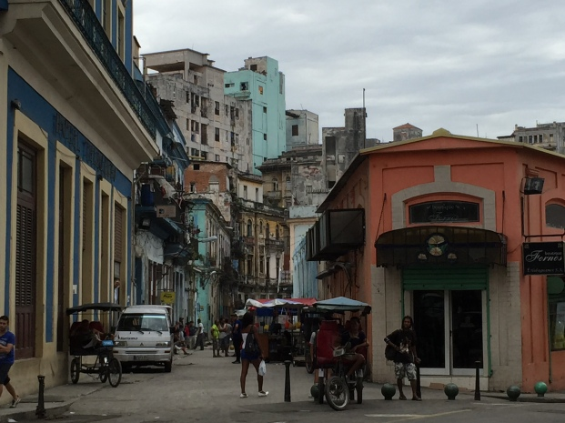 streetscapein central Havana
