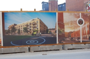 Rendering of Carlsberg Redevelopment